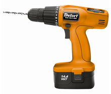 Defort Accu boormachine (14,4 V) in koffer